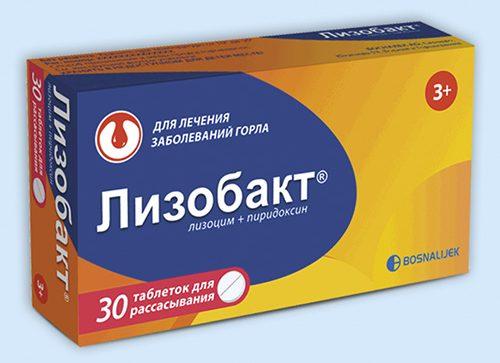 Lizobakt - Lysobact Tablet